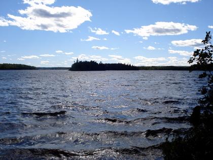 Minisinakwa Lake, Gogama,Ontario