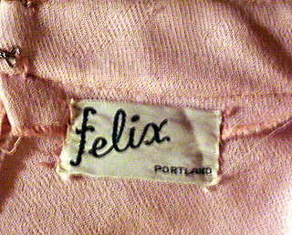 felix, portland, vintage fashion label, American